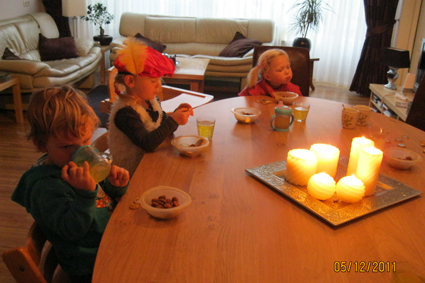 7. Sinterklaasviering Gastouderopvang Hamertje Tik IJlst